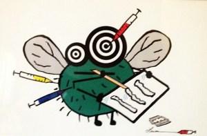 you gonna die fly illustration